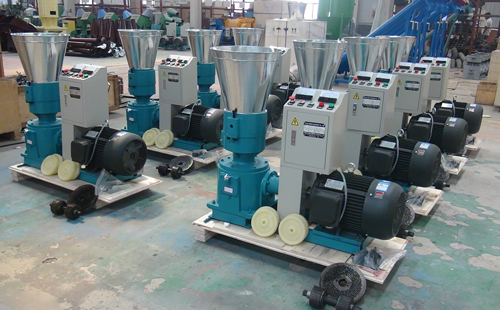 30 wood pellet presses are ready to travel across the sea