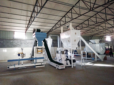 Complete Wood Pellet Plant with capacity 2 ton per hour