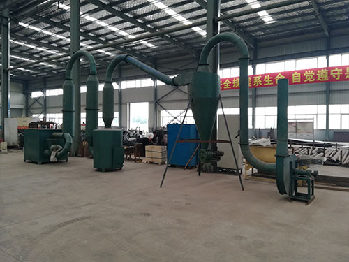 Product features of air flow dryer