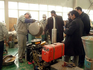 Saudi Arabian clients directly ordered mobile pelletizing systems