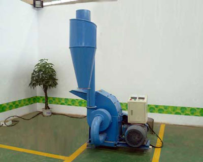 TFS420 hammer mill with electric engine