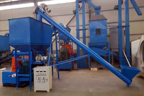 screw conveyor in pellets plant