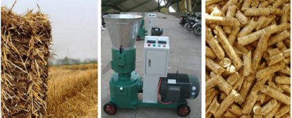 how much do you know about straw pellet press