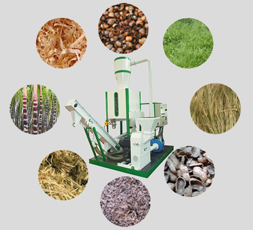superior pellet mill for various raw materials