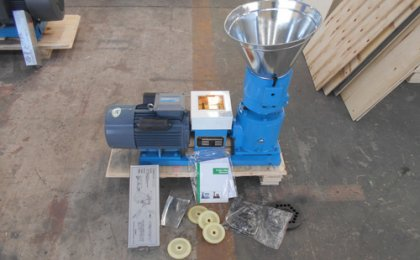 Australia customer ordered ZLSP150B pellet machine