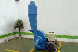 Wood hammer mill is the support machine of pellet mill
