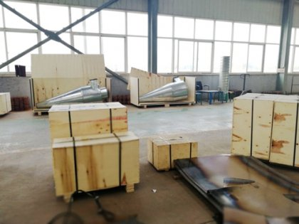 Weekly delivery of our pellet press and other supporting machines